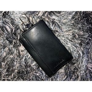 FOSSIL Leather Trifold Keyring Wallet
